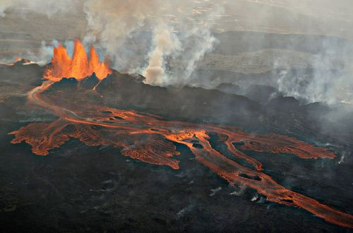 Lord of The Ring atmosphere at Holuhraun